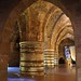 Crusader Knights Hall in the Old City of Akko Israel by Pilgrim Traveler