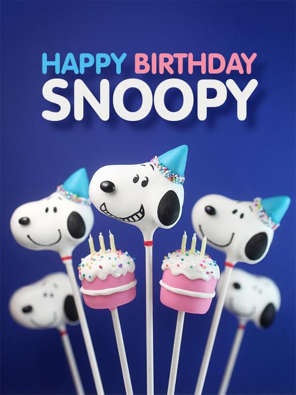 Happy Birthday Snoopy bakerellacom