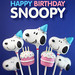 #HappyBirthdaySnoopy by Bakerella