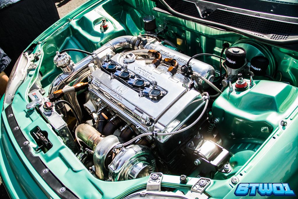 Bobby Engine bay