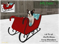 :North Moon: Jolly Puppy decor {Yulemas Day 1}