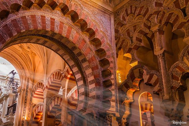 Interior de Mezquita-Catedral de Córdoba