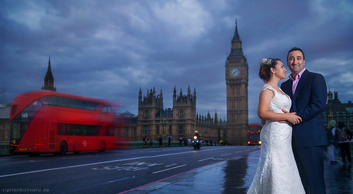 After wedding shooting in London 06