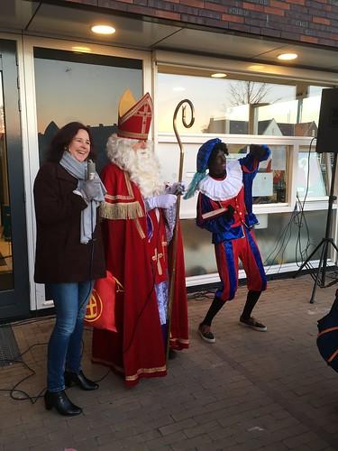 Zingen met Sint en Piet en Margot