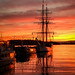 Sunset in Oslo harbour by CecilieSonstebyPhotography