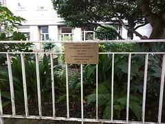 Photo of Gwendoline Kirby bronze plaque