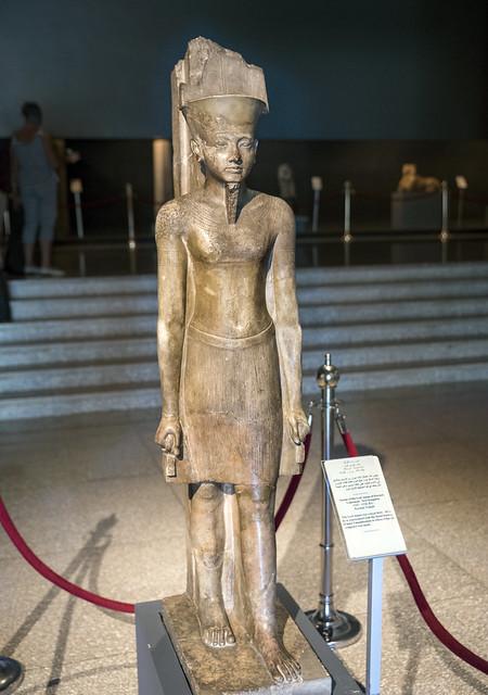 Museum Luxor: Statue of Amun