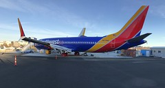Southwest Airlines Boeing 737-8 Max N8708Q