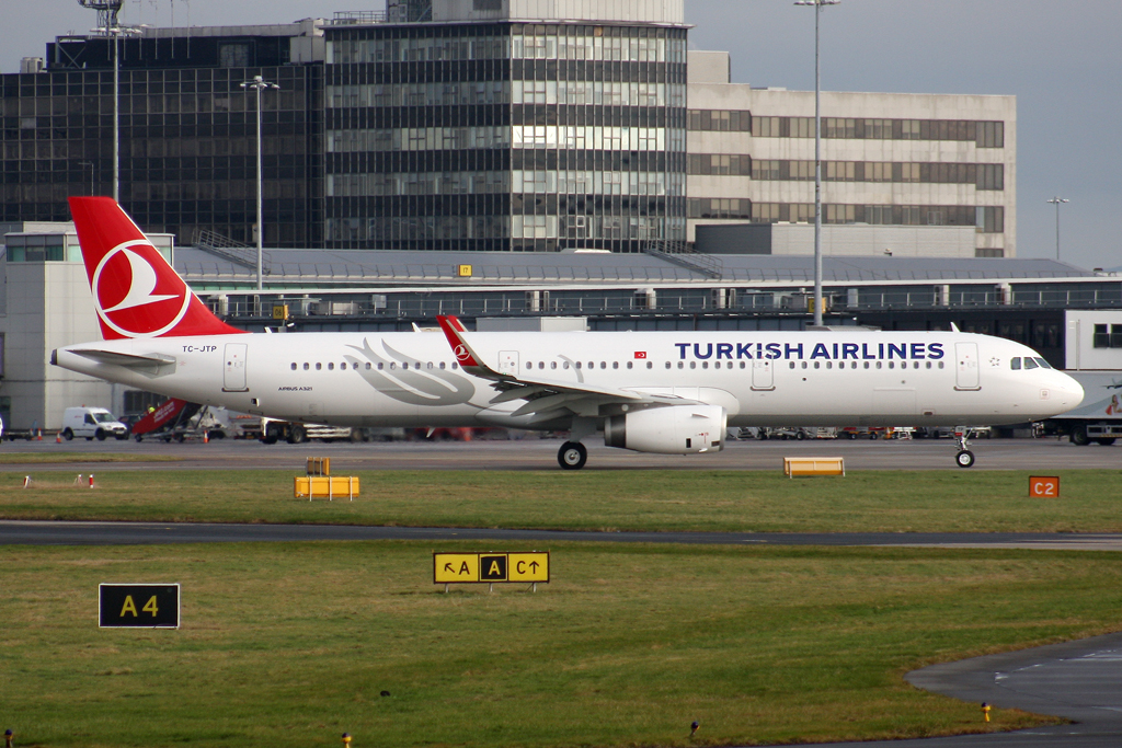 TC-JTP - A321 - Turkish Airlines