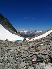 Abstieg Richtung Gletschersee