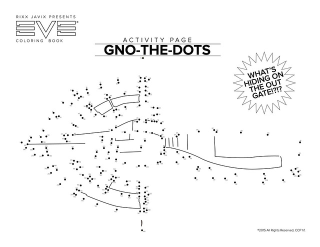 Eve Coloring Book: GNO-THE-DOTS