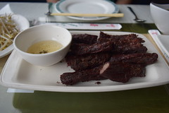"""Beef Jerky"" at Sophy's Thai"
