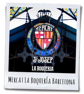 La Boquería in Barcelona, de grootste versmarkt van Spanje