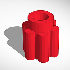 red, cylinder, illustration,