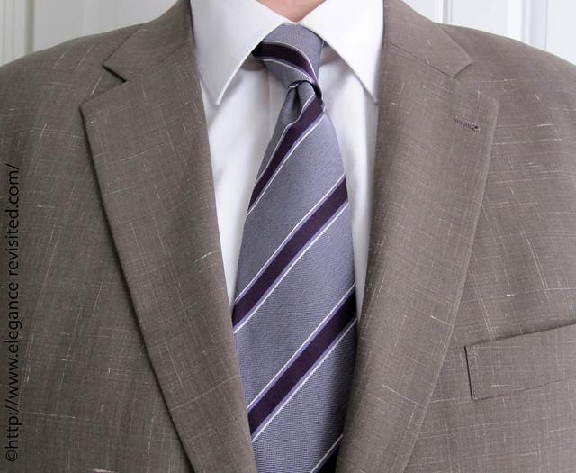 stripy tie