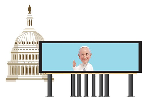 The Pope's Jumbotron
