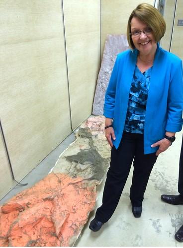 dinosaur britishcolumbia fossils tumblerridge bcgovernment dinosaurtrackway shirleybond unescoglobalgeopark bcdinosaurs tumblerridgeglobalgeopark tumblerridgemuseum