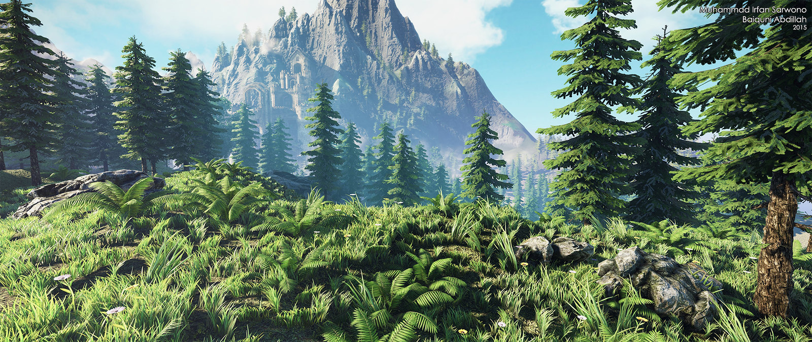 Download 90 Background Animasi Hutan Gratis Terbaik