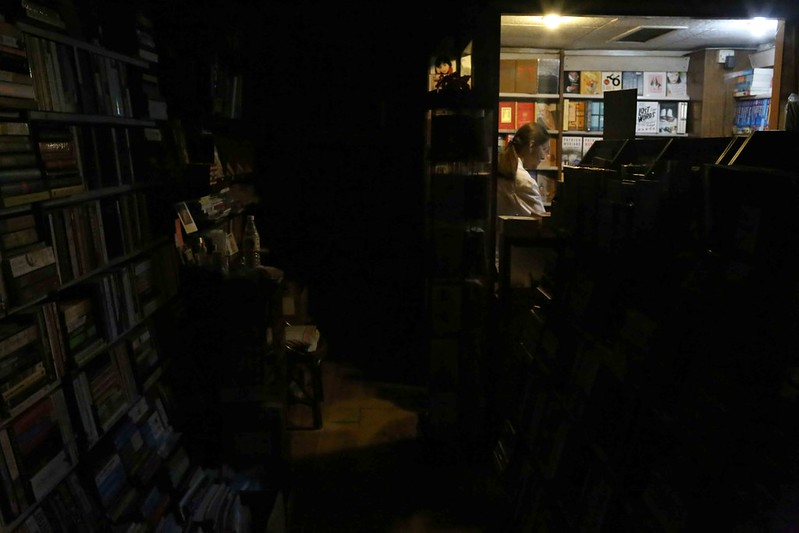 City Moment - Closing Time Ritual, The Book Shop, Jor Bagh