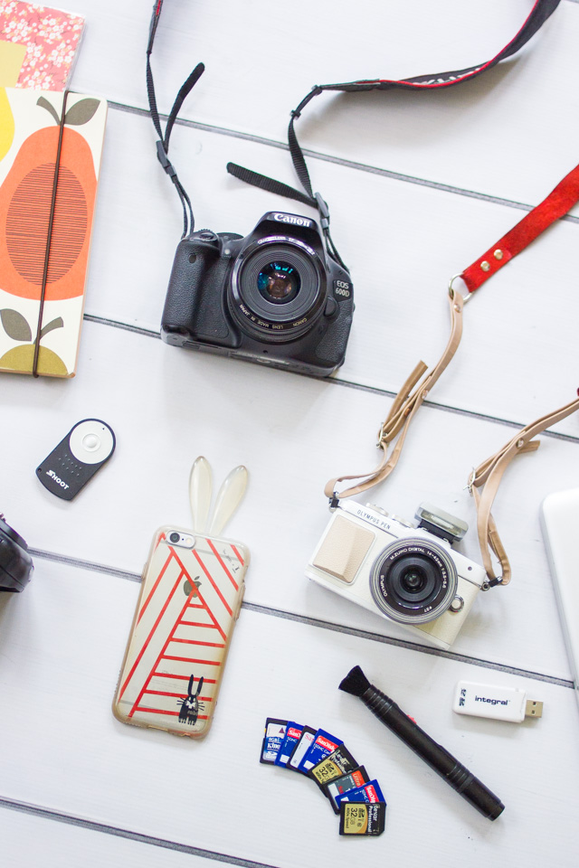 my blogging kit