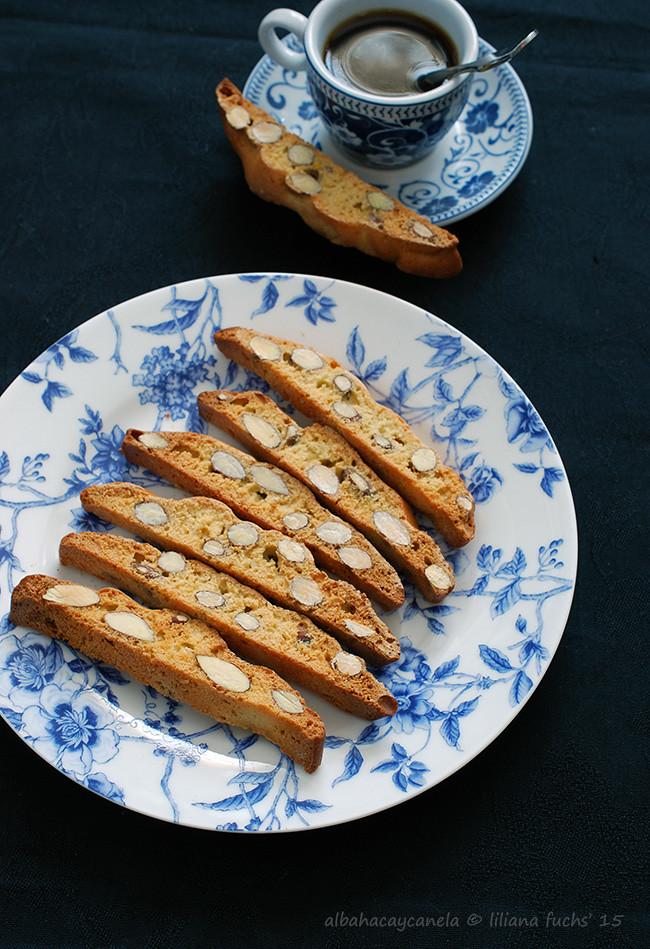 Spelt orange almond biscotti