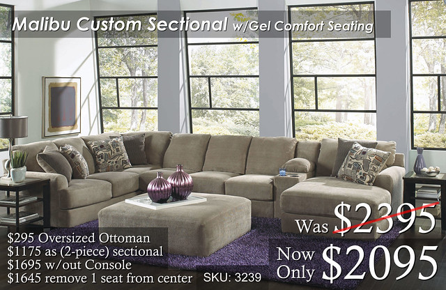 Malibu Custom Custom Sectional WORK