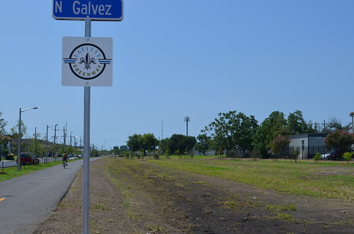 Lafitte Greenway at N. Galvez