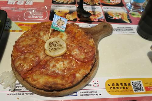 比卡超辣肉腸Pizza