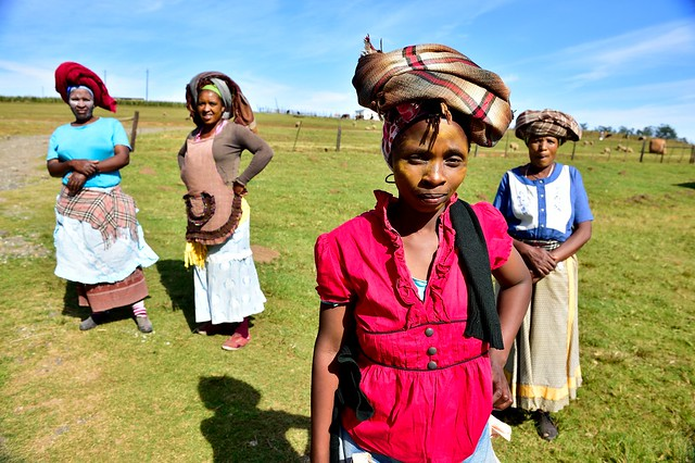 Xhosa women, Eastern Cape, South Africa