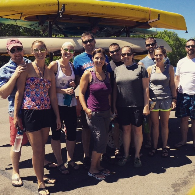 kayak trip peeps
