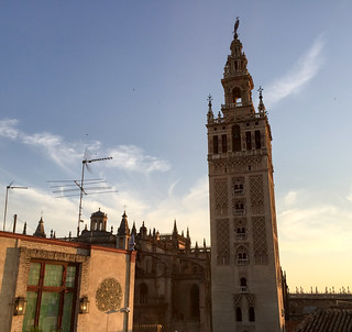 Seville rooftop drinks