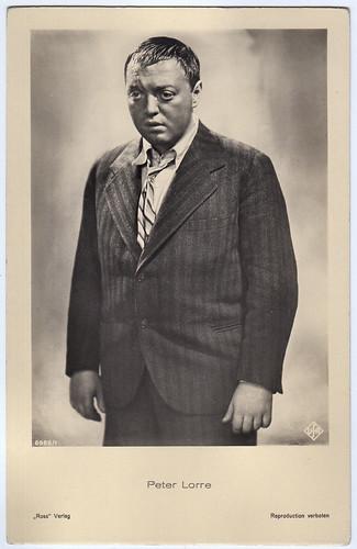 Peter Lorre in Schuß im Morgengrauen (1932)