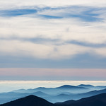 Hills from Mount Mitchell