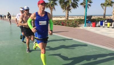 Vabroušek vybojoval v Dubaji třetí místo