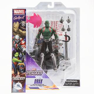 Marvel Select【星際異攻隊:毀滅者德拉克斯】Guardians of the Galaxy Drax 7 吋可動人偶作品
