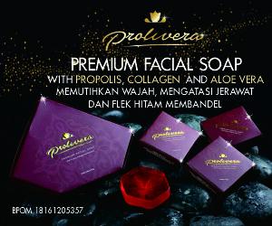 SABUN PROLIVERA - PREMIUM FACIAL SOAP - Mengandung Propolis, Collagen, dan Aloe Vera. Lihat DISINI