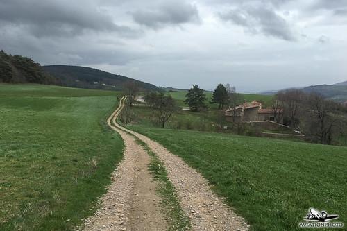 Camino Santiago Day 12: Saint Julien Molin Molette -> Les Setoux