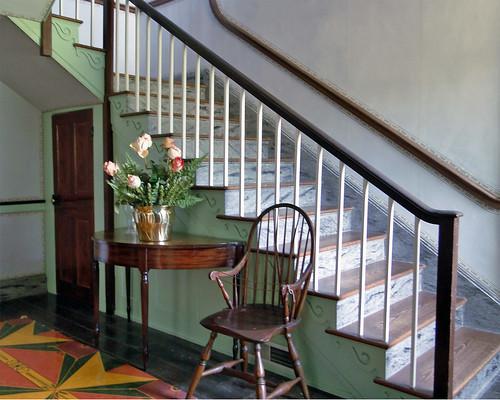 ohio history stair lj stairway staircase nationalhistoriclandmark maiac thomasworthington benjaminlatrobe adenamansion sonydschx1