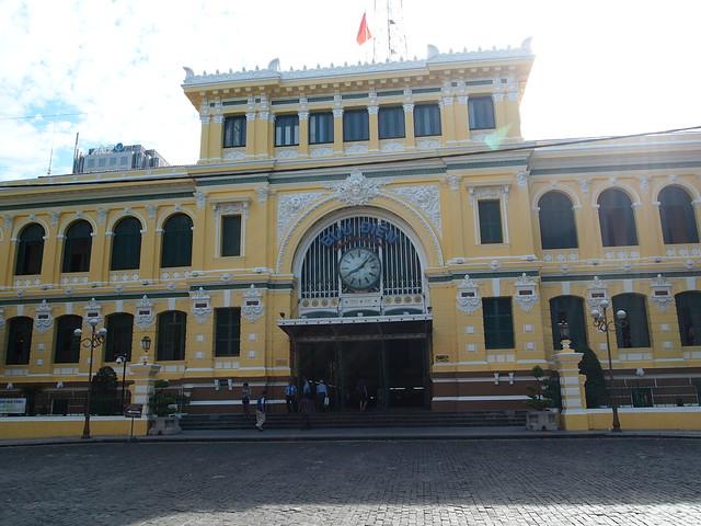 P6249571 サイゴン中央郵便局 ベトナム ホーチミン Buu Dien Thanh Pho