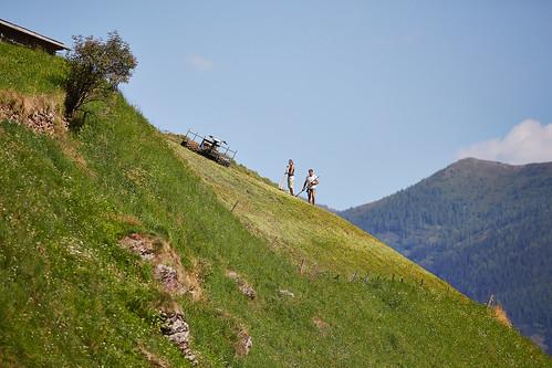 Bergbauern im Villgratental