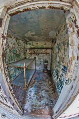 Prison cell fisheye