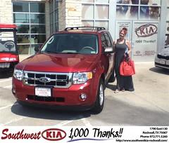 #HappyBirthday to Susan Black from Juan Cashat at Southwest KIA Rockwall!