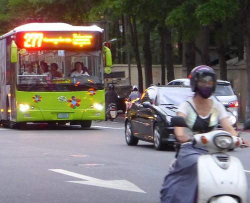 交通盤點。不同的交通方式也會影響碳足跡。