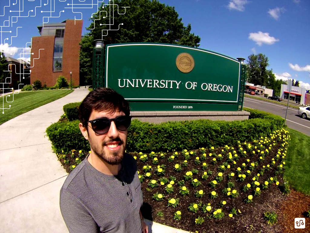 Adeus University of Oregon!