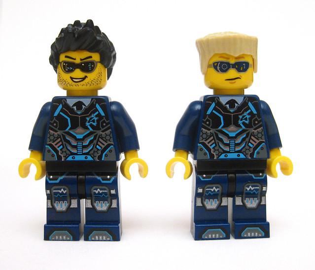 New Lego Ultra Agents shield /& weapon loose Agent Trey Swift minifigure
