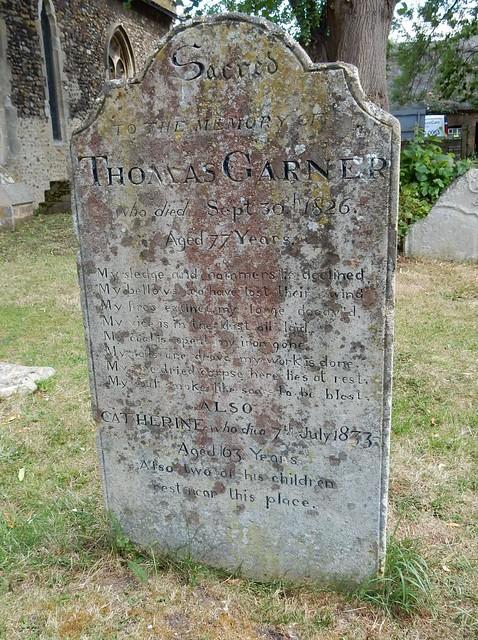 Blacksmith's epitaph