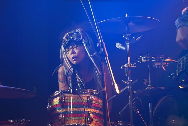 Coal Tar Moon live at 獅子王, Tokyo, 17 Jul 2015. 068