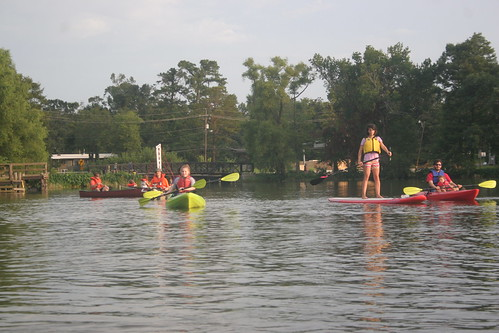 Canoes and kayaks and paddleboards, oh my.