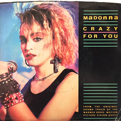 MADONNA:CRAZY FOR YOU(JACKET A)