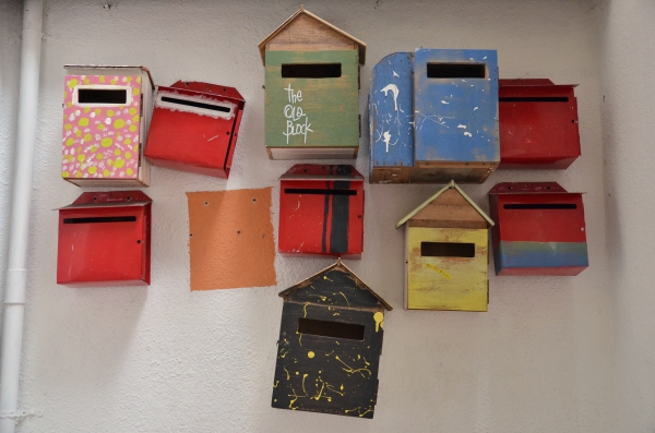 Colourful Mailboxes
